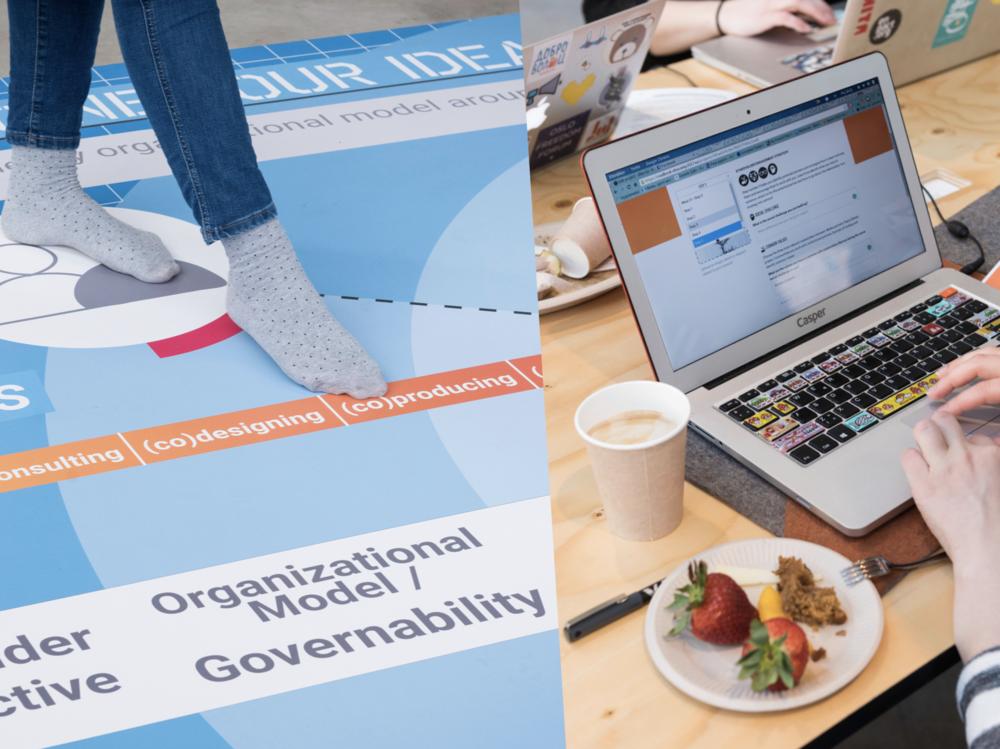 Facilitando la transición digital y espacios de participación mas seguros