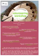 Önkéntesek workshopja - poszter
