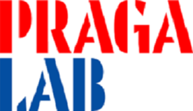 PRAGA LAB's official logo